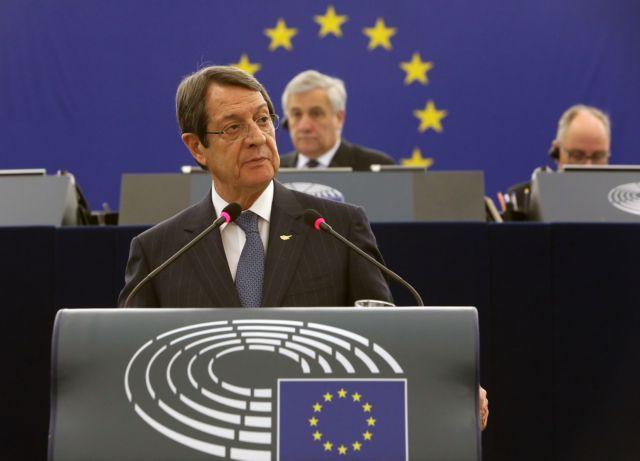 Αναστασιάδης: Οχι σε λύση του Κυπριακού προς ικανοποίηση τρίτων   tovima.gr