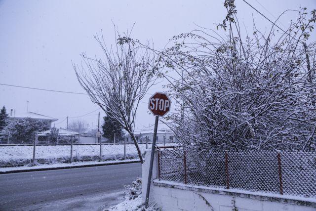 Χιόνια από τον «Τηλέμαχο» το μεσημέρι στην Αττική | tovima.gr