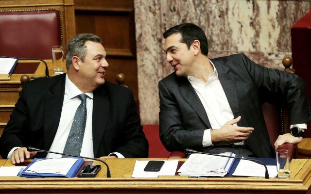 Το «ντέρμπι» είναι στημένο: Παιχνίδια Τσίπρα και Καμμένου στην πλάτη της Δημοκρατίας | tovima.gr