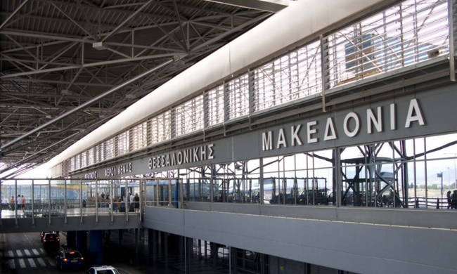 Δύσκολες καιρικές συνθήκες – Ανοιχτοί οι διάδρομοι στο αεροδρόμιο «Μακεδονία» | tovima.gr