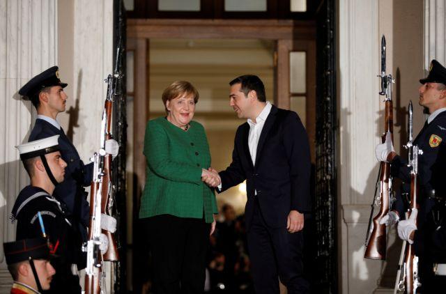 Μέρκελ: Δύσκολα πέρασαν οι Eλληνες – Τσίπρας: Ερχεστε σε μια άλλη Ελλάδα   tovima.gr