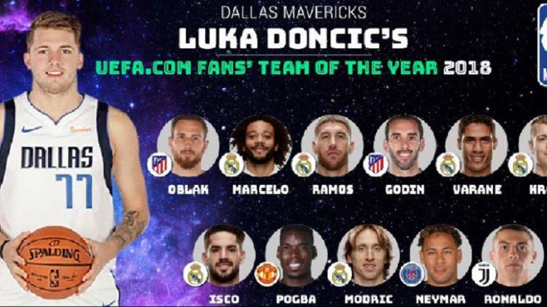 Αστέρες του NBA φτιάχνουν την ιδανική 11αδα ποδοσφαίρου του 2018   tovima.gr