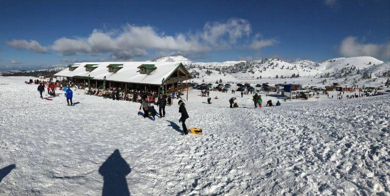 Καλάβρυτα: Χιονοστιβάδα «έκλεισε» το χιονοδρομικό κέντρο   tovima.gr