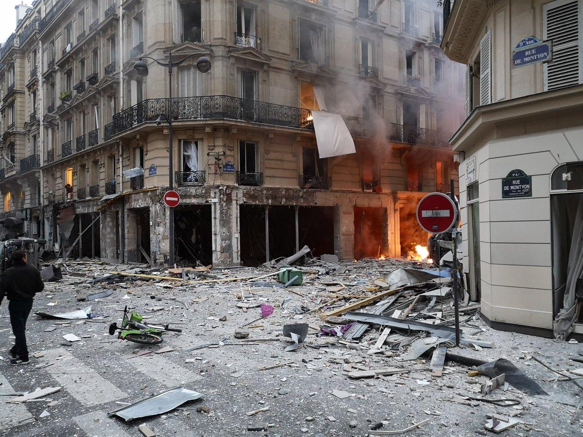 Γαλλία: Εκρηξη στο κέντρο του Παρισιού - Πληροφορίες για τραυματίες - Ειδήσεις - νέα - Το Βήμα Online