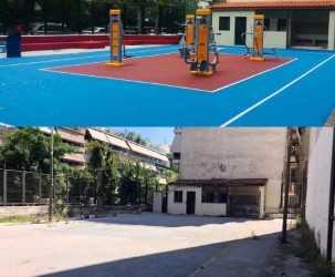 Αρχισε να λειτουργεί υπαίθριο γυμναστήριο στην Γ' Δημοτική Κοινότητα Πειραιά | tovima.gr