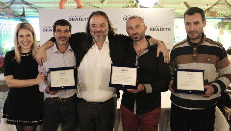 Η Seajets βραβεύει τους αλιείς και ναυτικούς για τη συμβολή τους στη διάσωση των συνανθρώπων μας | tovima.gr