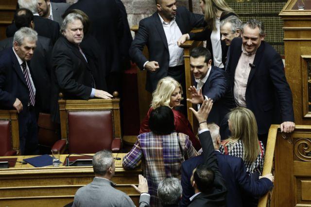 Tsipras wins confidence vote, says government will complete term | tovima.gr