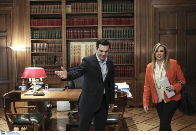 Οταν ο Αλέξης συνάντησε τη Φώφη… στο σπίτι του Αντώνη Λιβάνη | tovima.gr