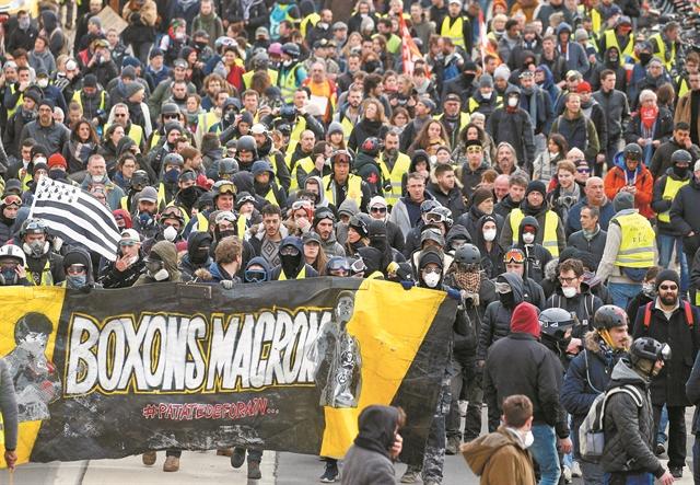Τα «κίτρινα γιλέκα» φτιάχνουν κόμμα | tovima.gr