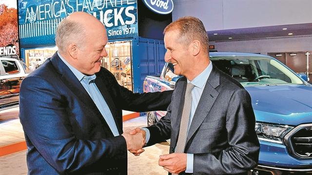 Συμμαχία VW – Ford «ανάχωμα» στους δασμούς του Τραμπ | tovima.gr