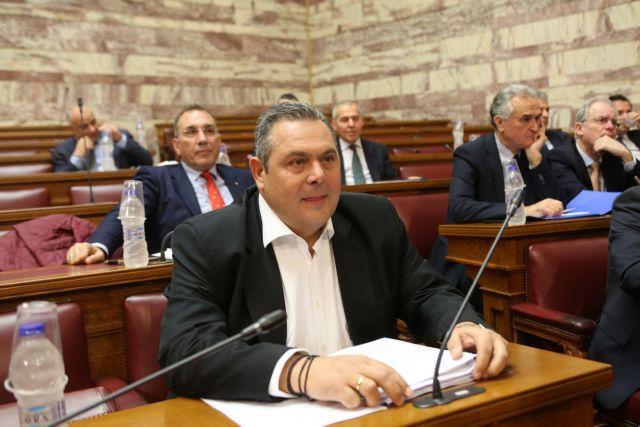 Καμμένος λάβρος κατά κυβέρνησης καταγγέλλει υπόγειες μεθοδεύσεις και αποστασίες για να περάσει η Συμφωνία | tovima.gr