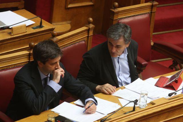 Με «κόκκινα δάνεια» και «νόμο Κατσέλη» ξεκινούν οι συζητήσεις κυβέρνησης – θεσμών | tovima.gr