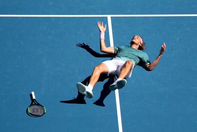 Γράφει χρυσή ιστορία : Ο Τσιτσιπάς στα ημιτελικά του Αυστραλιανού Οπεν | tovima.gr
