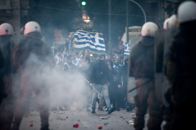 Συλλαλητήριο: Η βίαιη διάλυση και οι κουκουλοφόροι-αστυνομικοί της Γεροβασίλη   tovima.gr