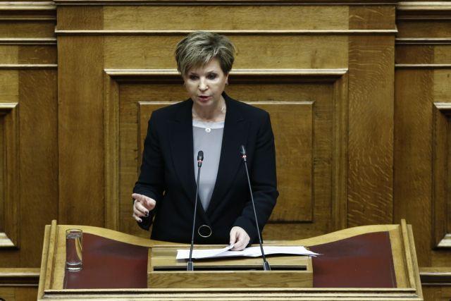 Γεροβασίλη: Οι κουκουλοφόροι στη Βουλή είναι αστυνομικοί | tovima.gr