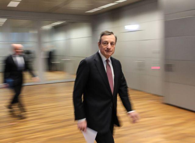 Ντράγκι : Ανήσυχος για την ανάπτυξη στην ευρωζώνη | tovima.gr