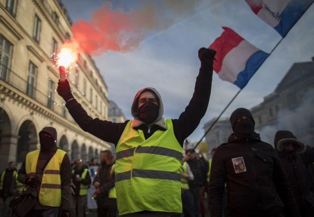 Γαλλία: Ψηφίστηκε το ν/σ για τον περιορισμό των βίαιων διαδηλώσεων | tovima.gr