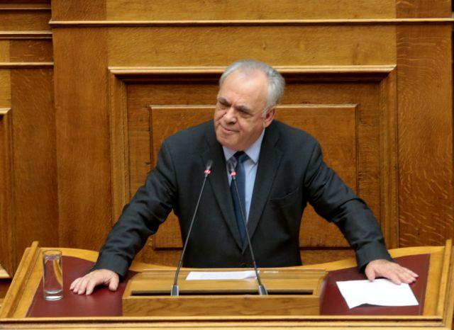 Δραγασάκης: Η λύση για τα «κόκκινα δάνεια» αργεί για να μην θιγούν Δημόσιο και φορολογούμενοι | tovima.gr