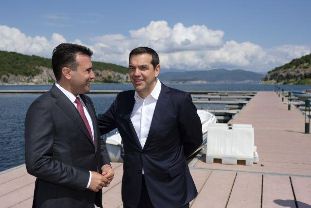Δημοσκόπηση: Μόνο το 12,6% συμφωνεί με τον Τσίπρα για τις Πρέσπες   tovima.gr
