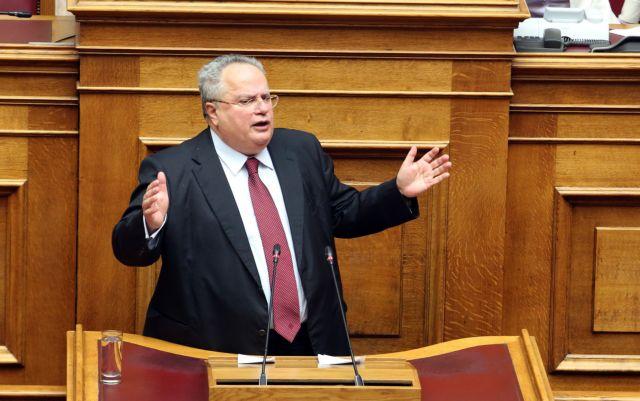 Κοτζιάς: Έχουμε δικαίωμα βέτο στην ένταξη της ΠΓΔΜ στην ΕΕ | tovima.gr