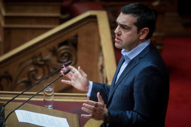 Πυρά Τσίπρα κατά ΝΔ-ΚΙΝΑΛ για παρασκηνιακές συμφωνίες στην εκλογή ΠτΔ | tovima.gr