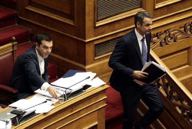 Τσίπρας – Μητσοτάκης: Σύγκρουση για Σύνταγμα και Πρόεδρο της Δημοκρατίας | tovima.gr