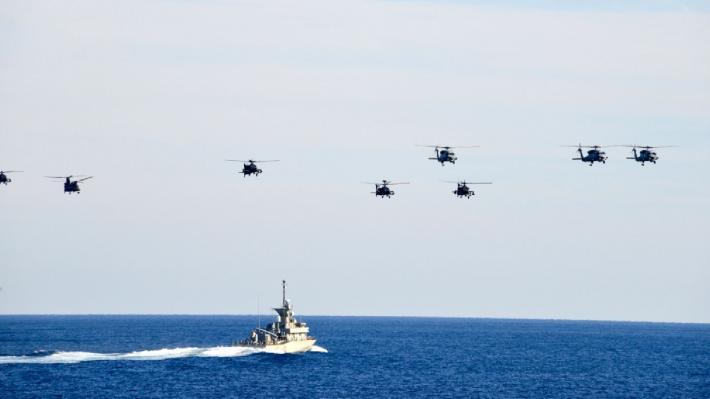 «Γαλάζια Πατρίδα» : Επίδειξη δύναμης σε Αθήνα – Λευκωσία | tovima.gr