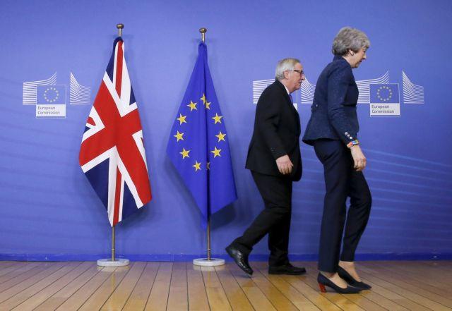 Μέι – Γιούνκερ: Συνάντηση την Τετάρτη για το Brexit | tovima.gr