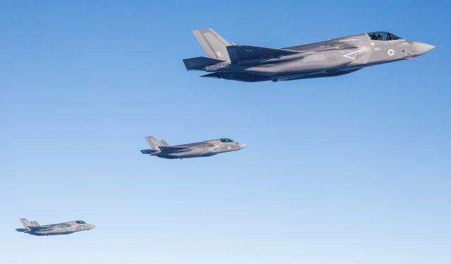 ΗΠΑ: Χειρόφρενο στην παράδοση των F-35 στην Τουρκία | tovima.gr