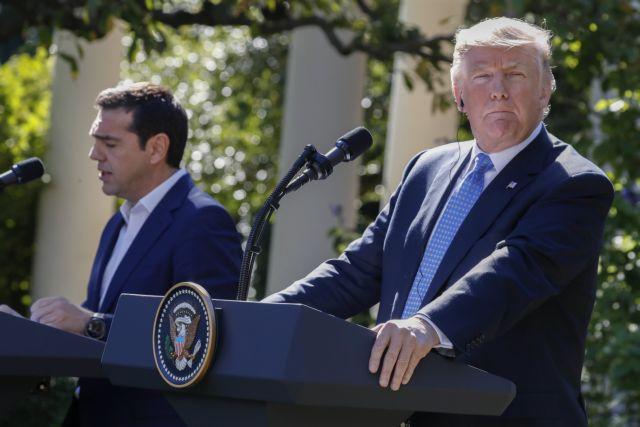 Συγχαρητήρια επιστολή Τραμπ σε Τσίπρα – Ζάεφ για τη Συμφωνία των Πρεσπών | tovima.gr