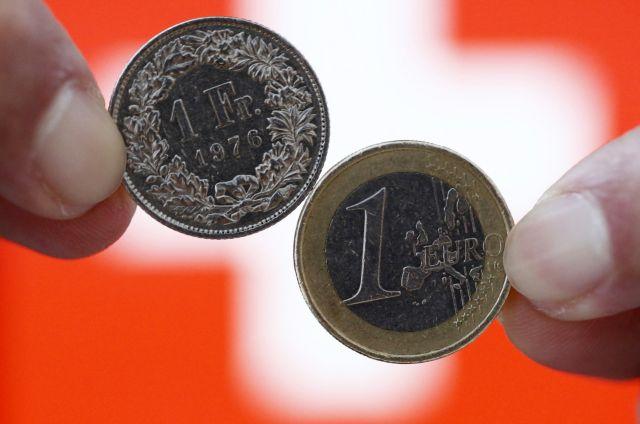 Ελβετικό φράγκο: Σε κίνδυνο 70.000 δανειολήπτες | tovima.gr