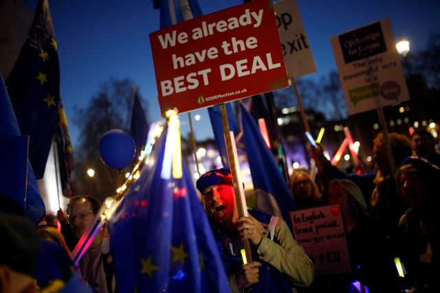 Βουλή των Κοινοτήτων: Yes στη νέα στρατηγική της Μέι για το Brexit | tovima.gr