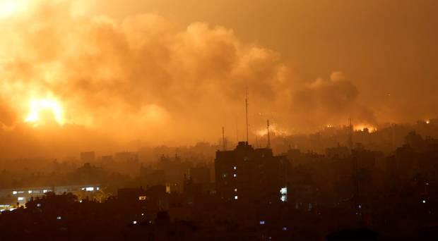 Ισραηλινή πυραυλική επίθεση στη Λωρίδα της Γάζας   tovima.gr
