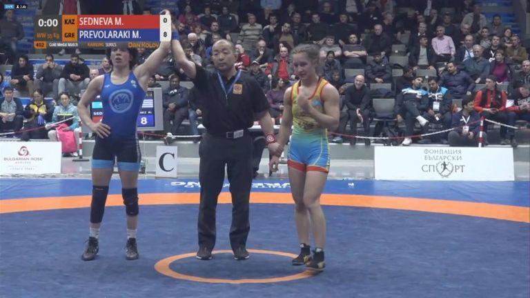 Χρυσό μετάλλιο για την Πρεβολαράκη στη Βουλγαρία | tovima.gr