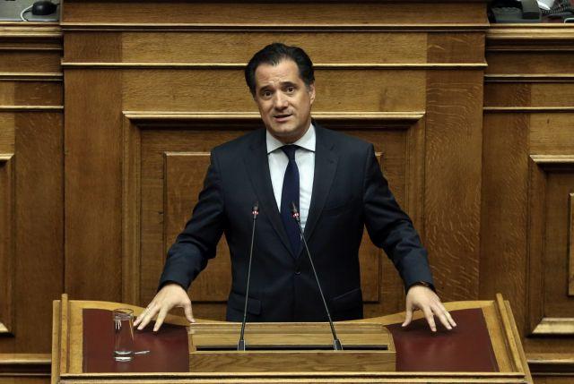 Γεωργιάδης: Καταδικάζει τις επιθέσεις στα ΑΤ | tovima.gr