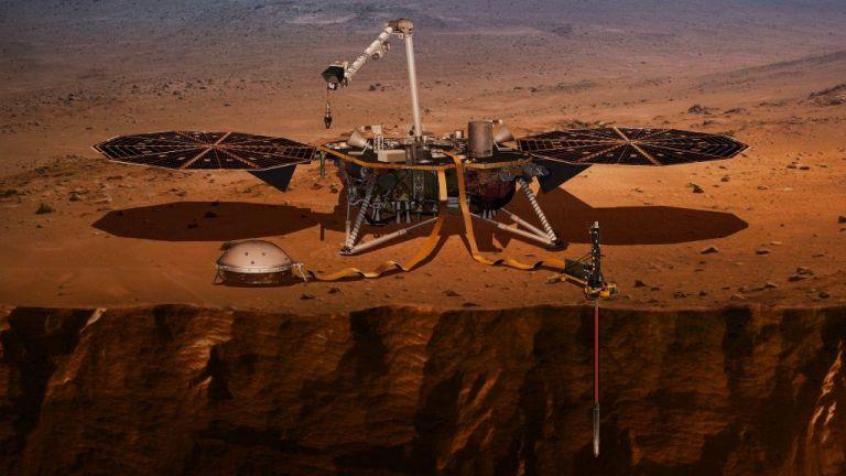 Το InSight της NASA ξεκίνησε το σκάψιμο στον Αρη   tovima.gr