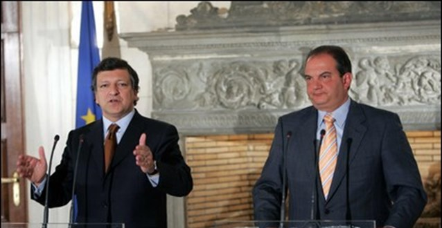 Ο Μπαρόζο, τα μυστήρια των Δελφών και η κυβέρνηση Καραμανλή | tovima.gr