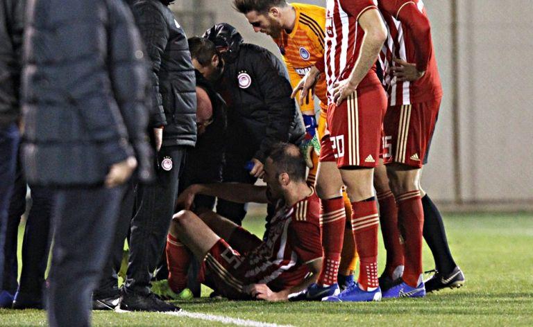 Ολυμπιακός : Φόβοι για ζημιά στο γόνατο του Βασίλη Τοροσίδη | tovima.gr