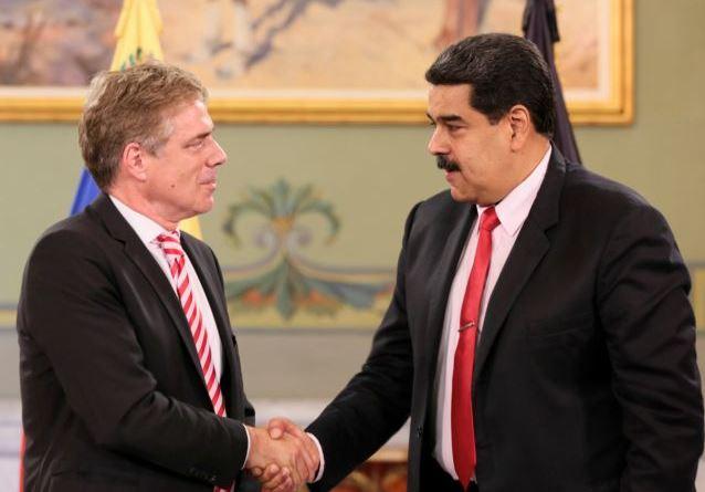 Τον πρέσβη της Γερμανίας απέλασε η Βενεζουέλα | tovima.gr