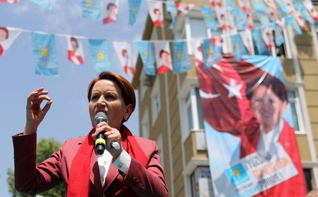 Ερντογάν: Μήνυση εναντίον στην αρχηγό του ακροδεξιού «Καλού Κόμματος» Ακσενέρ | tovima.gr