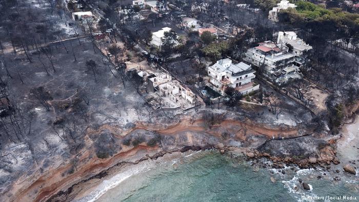 Mάτι: Η πυρκαγιά του αιώνα | tovima.gr