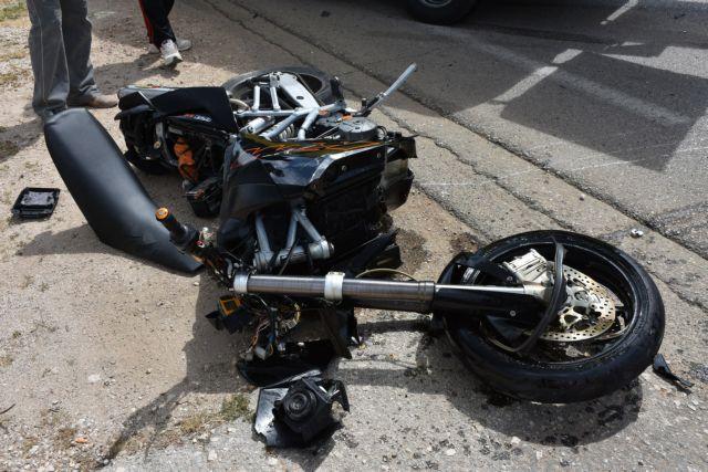 Τροχαίο δυστύχημα με θύμα 21χρονο μοτοσικλετιστή στην Ασπροβάλτα | tovima.gr