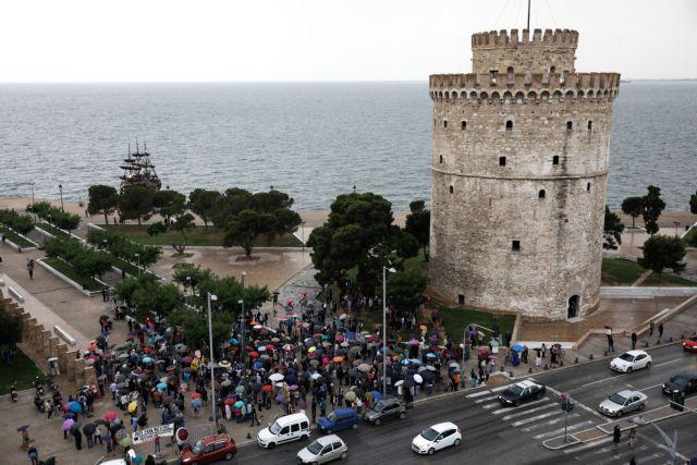 Θεσσαλονίκη: Πόλεμος αναρτήσεων των υποψηφίων Νοτοπούλου- Ταχιάου | tovima.gr