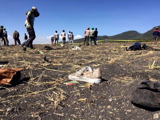 Αιθιοπία : Οι πρώτες εικόνες μετά την αεροπορική τραγωδία | tovima.gr