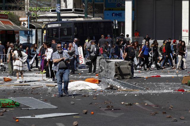 Η ελληνική κρίση και τα επεισόδια φέρνουν το Χόλιγουντ στην Αθήνα | tovima.gr