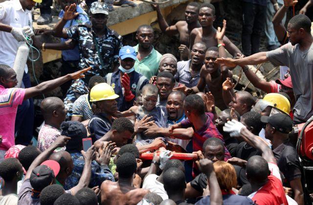 Νιγηρία – Κατάρρευση σχολείου: 10 παιδιά παγιδευμένα στα συντρίμμια | tovima.gr