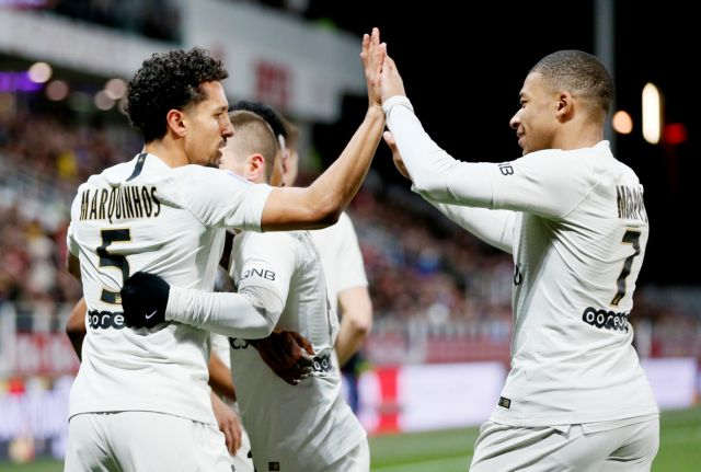 Ligue 1 : Με 4αρα στο +17 η Παρί Σεν Ζερμέν | tovima.gr