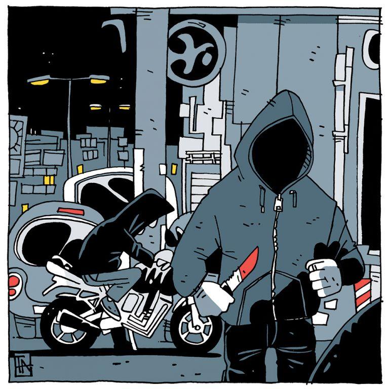 «Βαλ'τους Χ»: Οι ρατσιστικές επιθέσεις αποτυπωμένες σε σκίτσα | tovima.gr