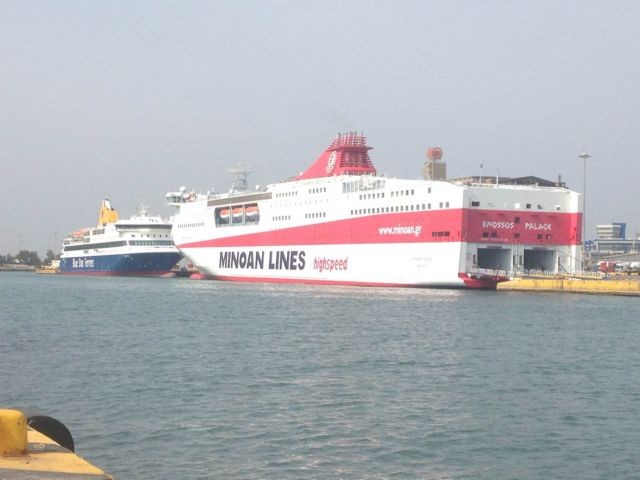 Επιστρέφουν τα πλοία των Μινωικών Γραμμών στην πύλη Ε2 στον Πειραιά | tovima.gr