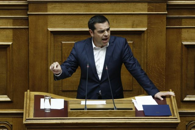 Tsipras defends SYRIZA's proposed constitutional amendments, accuses ND of torpedoing revision | tovima.gr